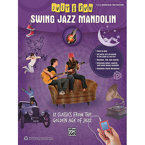 Alfred Just for Fun Swing Jazz Mandolin Book thumbnail