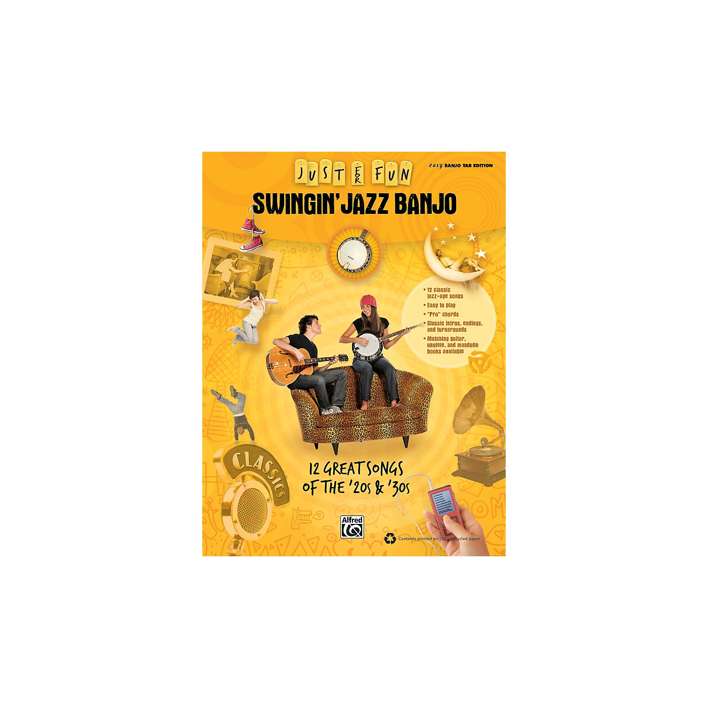 Alfred Just for Fun: Swingin' Jazz Banjo (Book) thumbnail