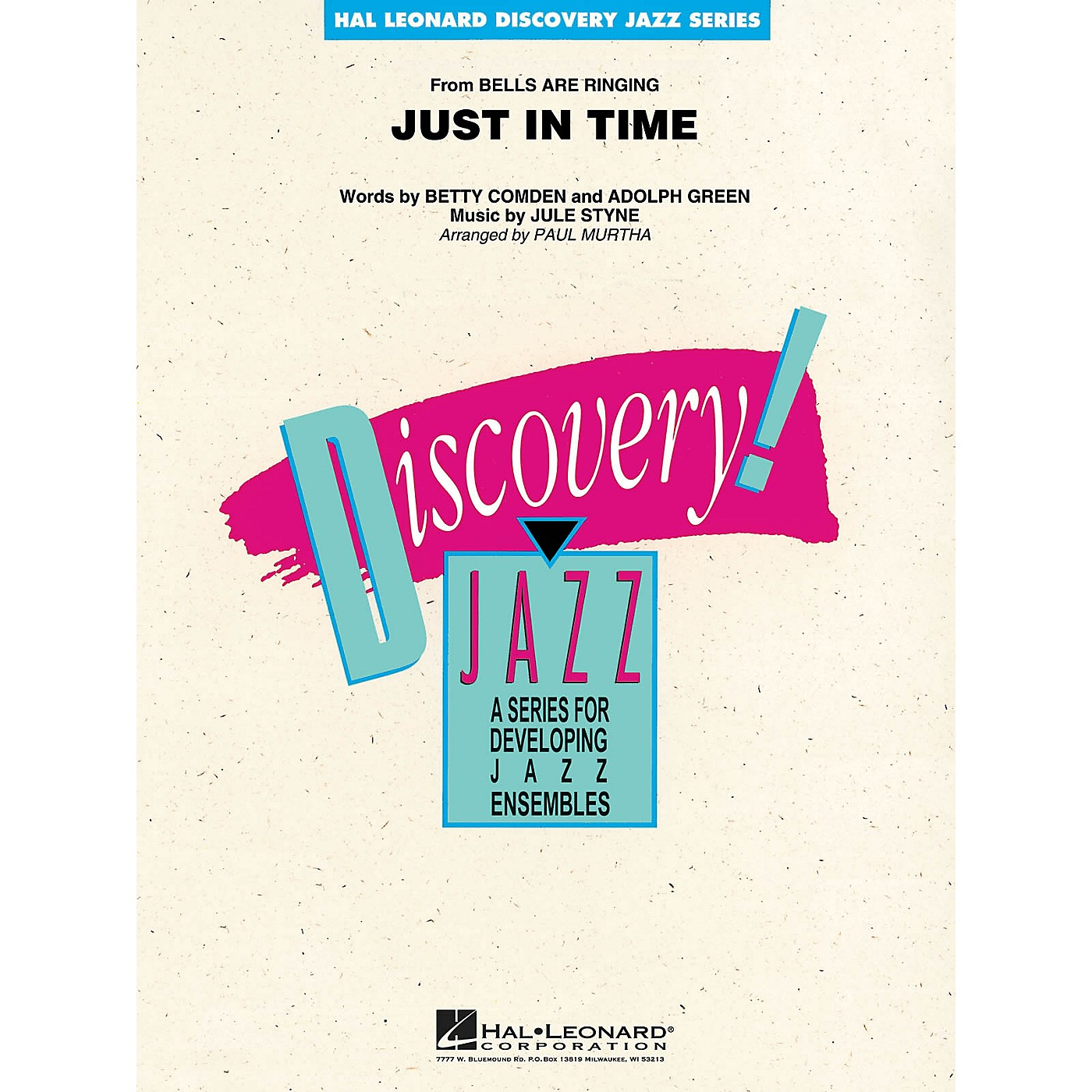 Hal Leonard Just in Time Jazz Band Level 1-2 Arranged by Paul Murtha thumbnail