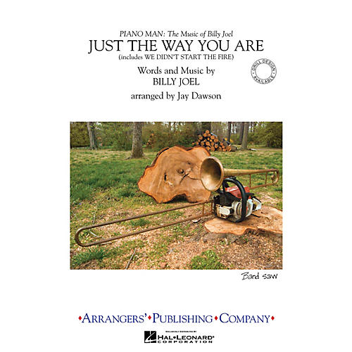 Arrangers Just the Way You Are/We Didn't Start the Fire Marching Band Level 3 Arranged by Jay Dawson thumbnail