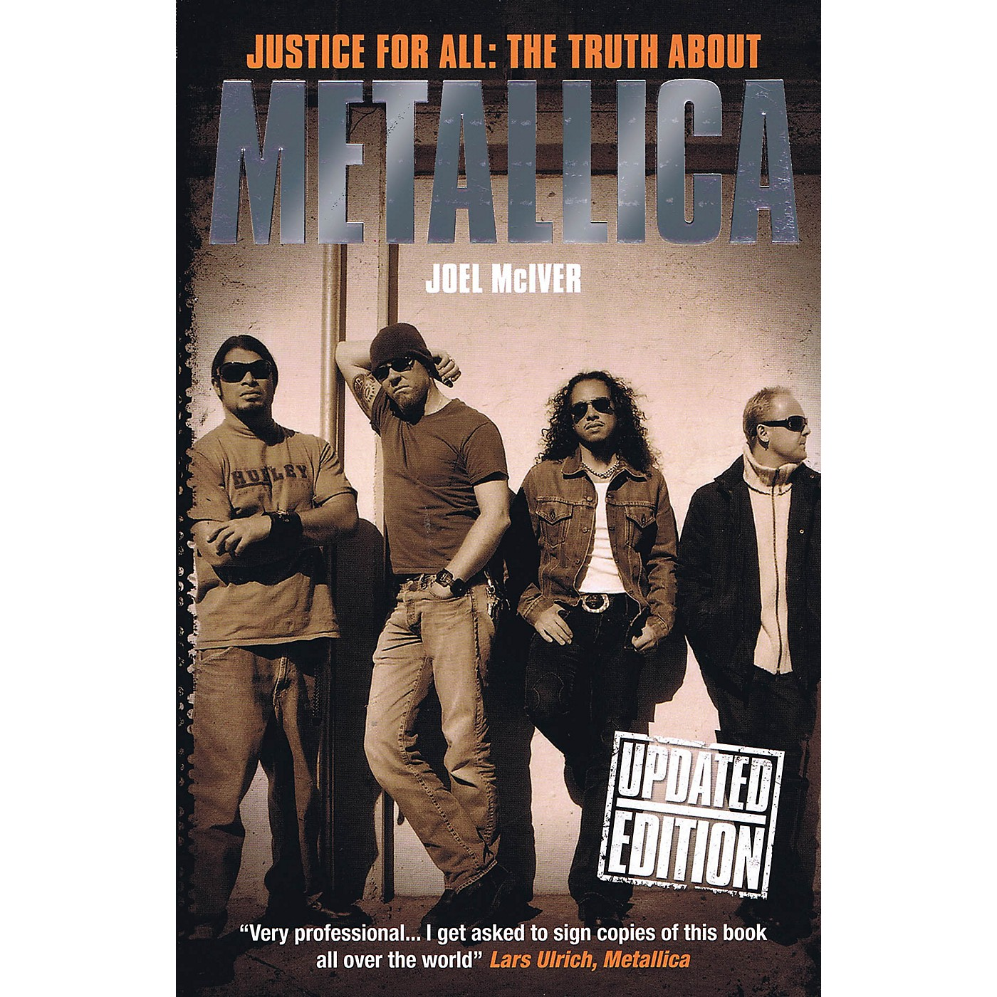 Omnibus Justice for All: The Truth About Metallica (Updated Edition) Omnibus Press Series Softcover thumbnail