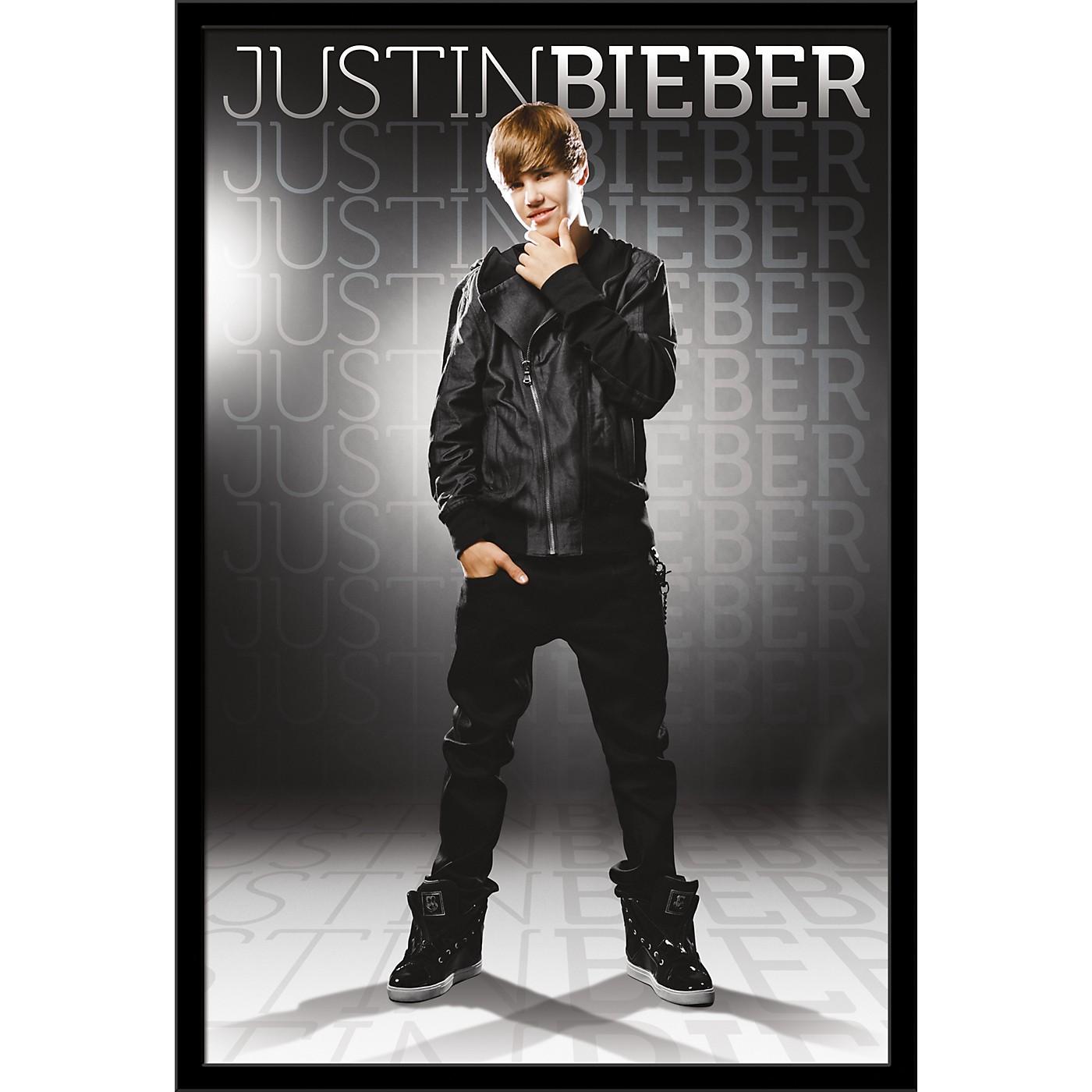 Trends International Justin Bieber - Gray Poster thumbnail