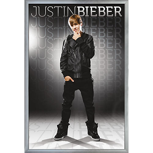 Trends International Justin Bieber - Gray Poster thumbnail