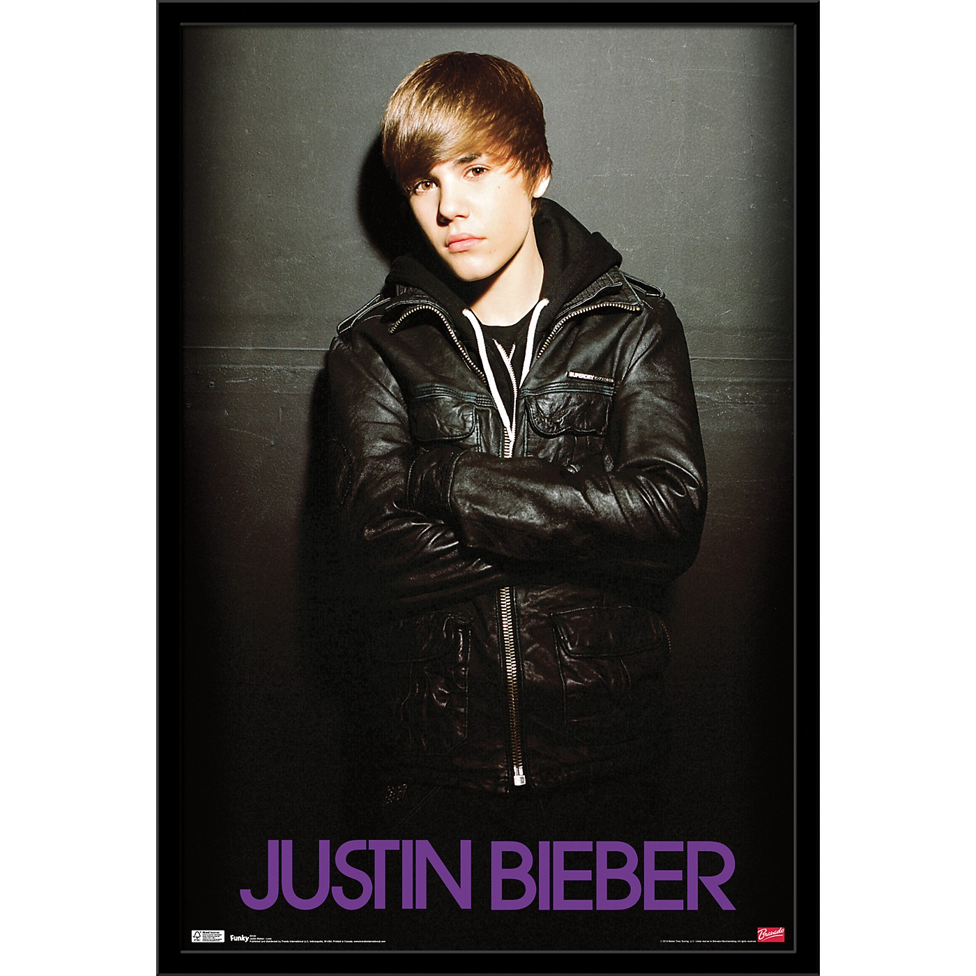 Trends International Justin Bieber - Love Poster thumbnail