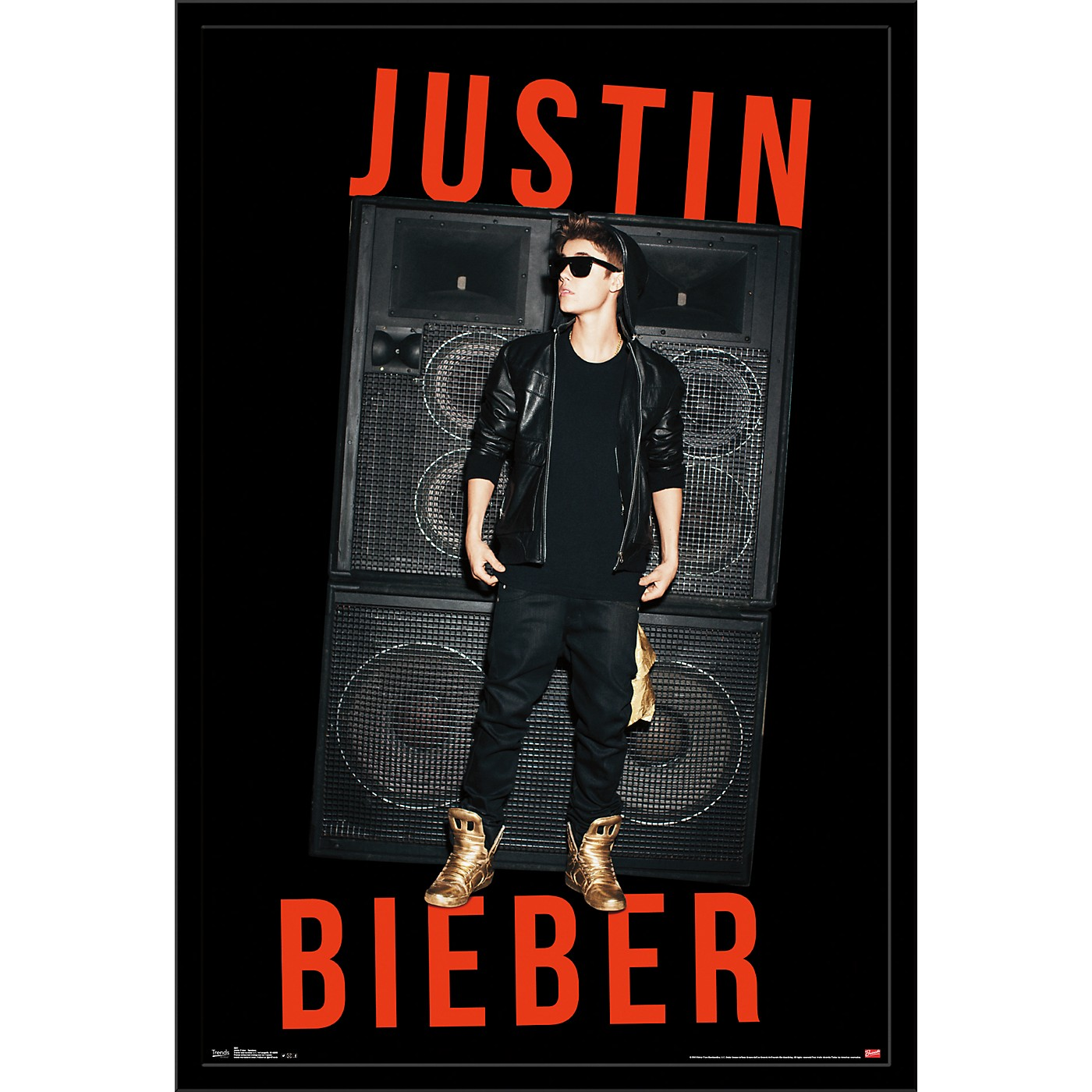 Trends International Justin Bieber - Speakers Poster thumbnail
