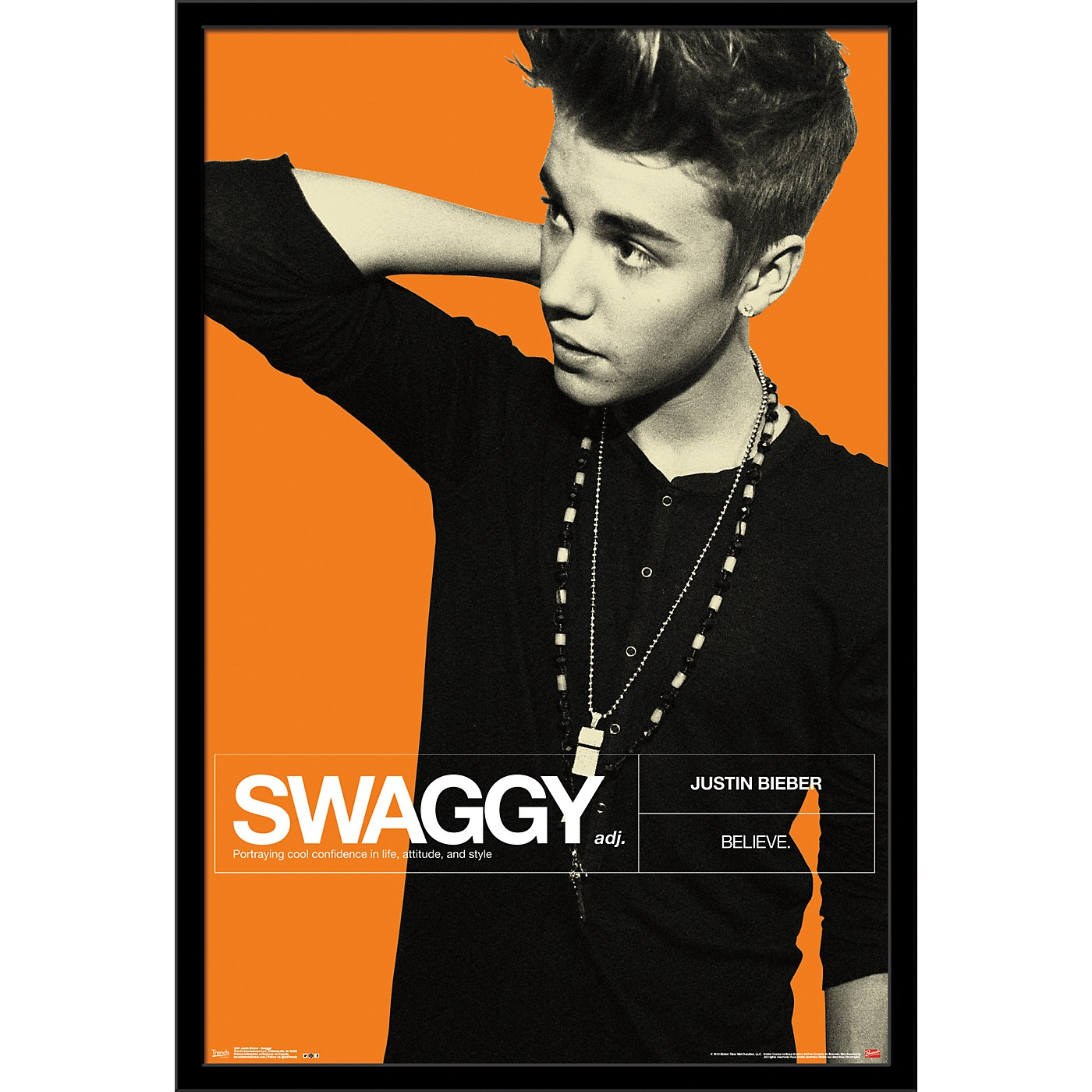Trends International Justin Bieber - Swaggy Poster thumbnail