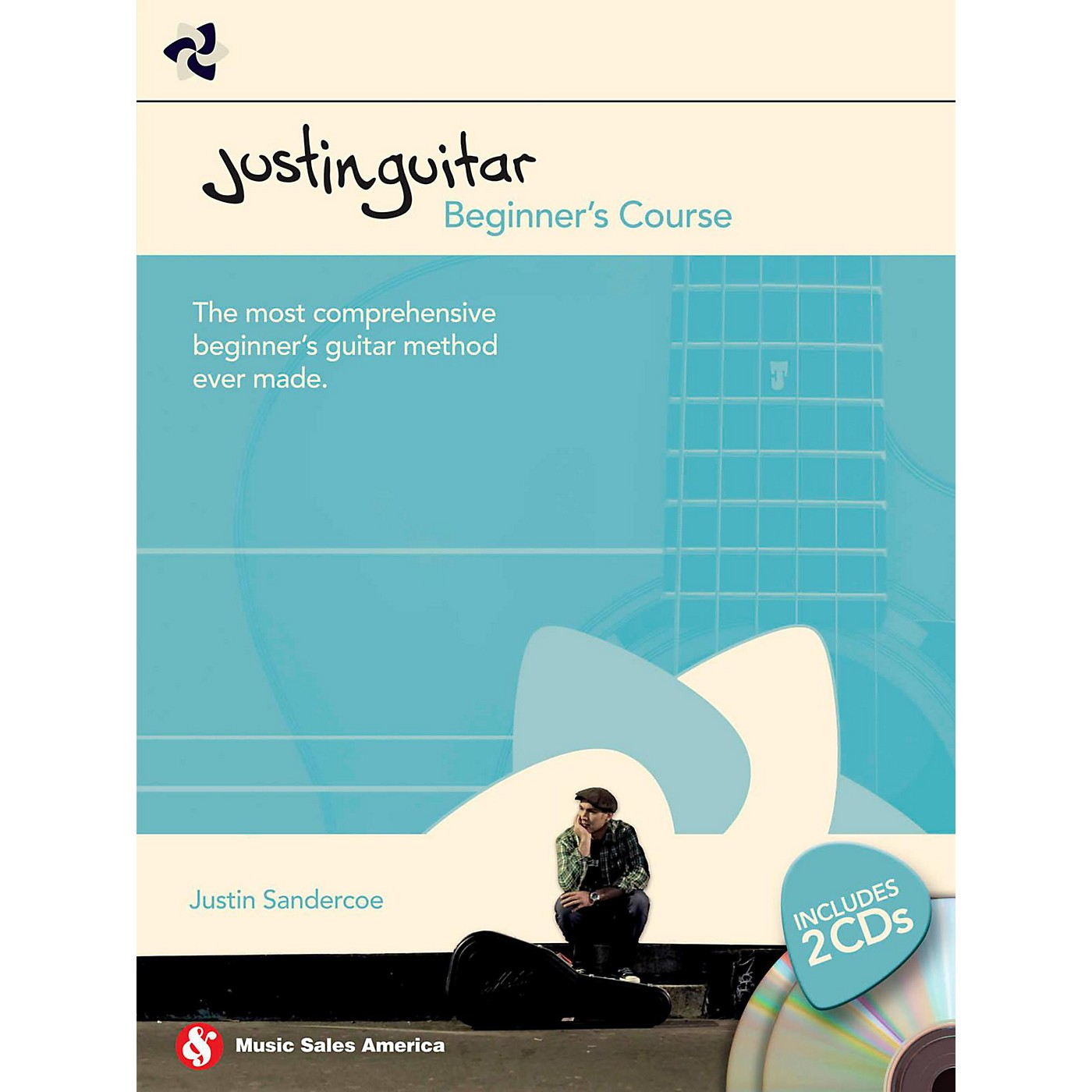 Hal Leonard Justin Guitar - Beginner's Course (Book/2-CD Pack) thumbnail