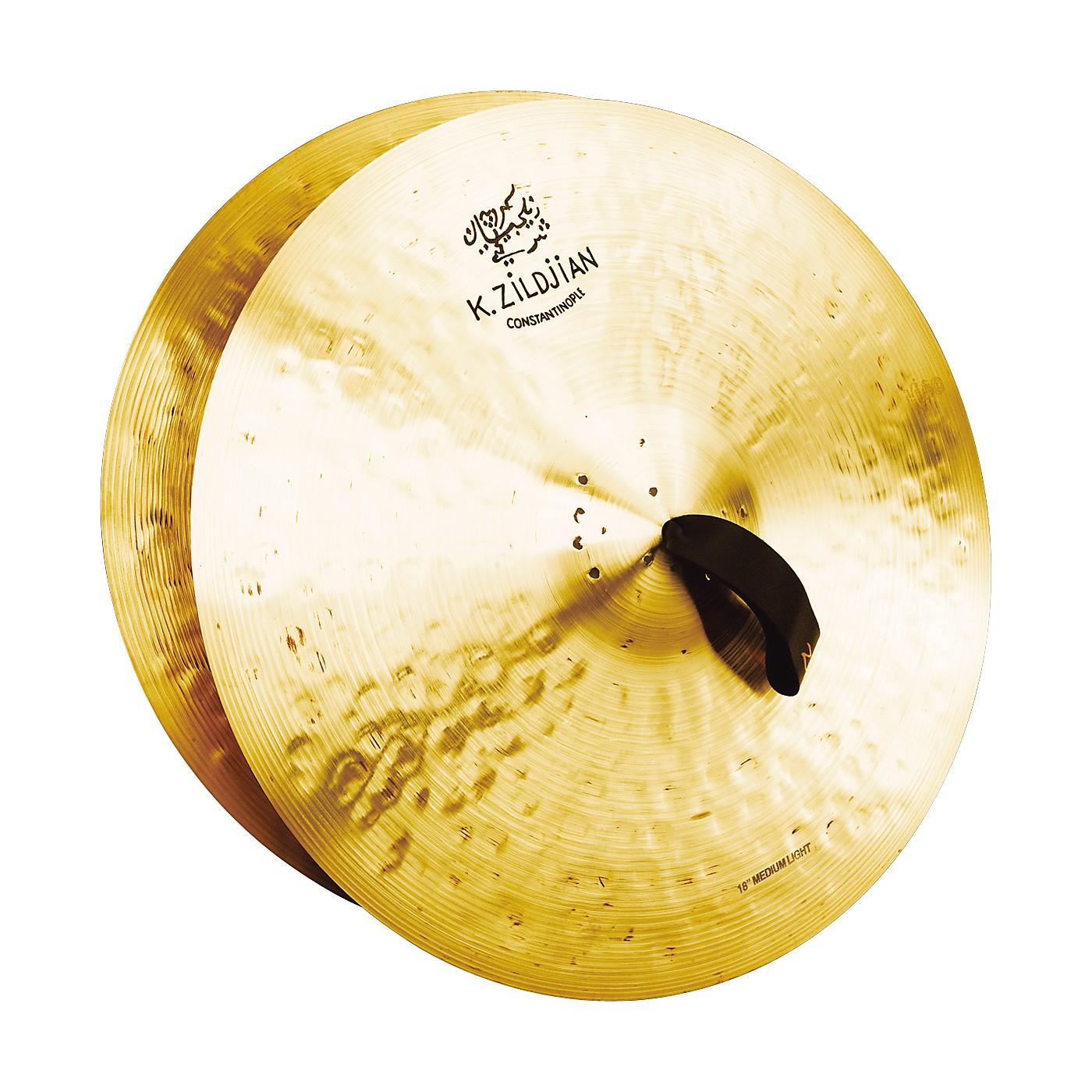 Zildjian K Constantinople Medium Light Crash Cymbal Pair thumbnail