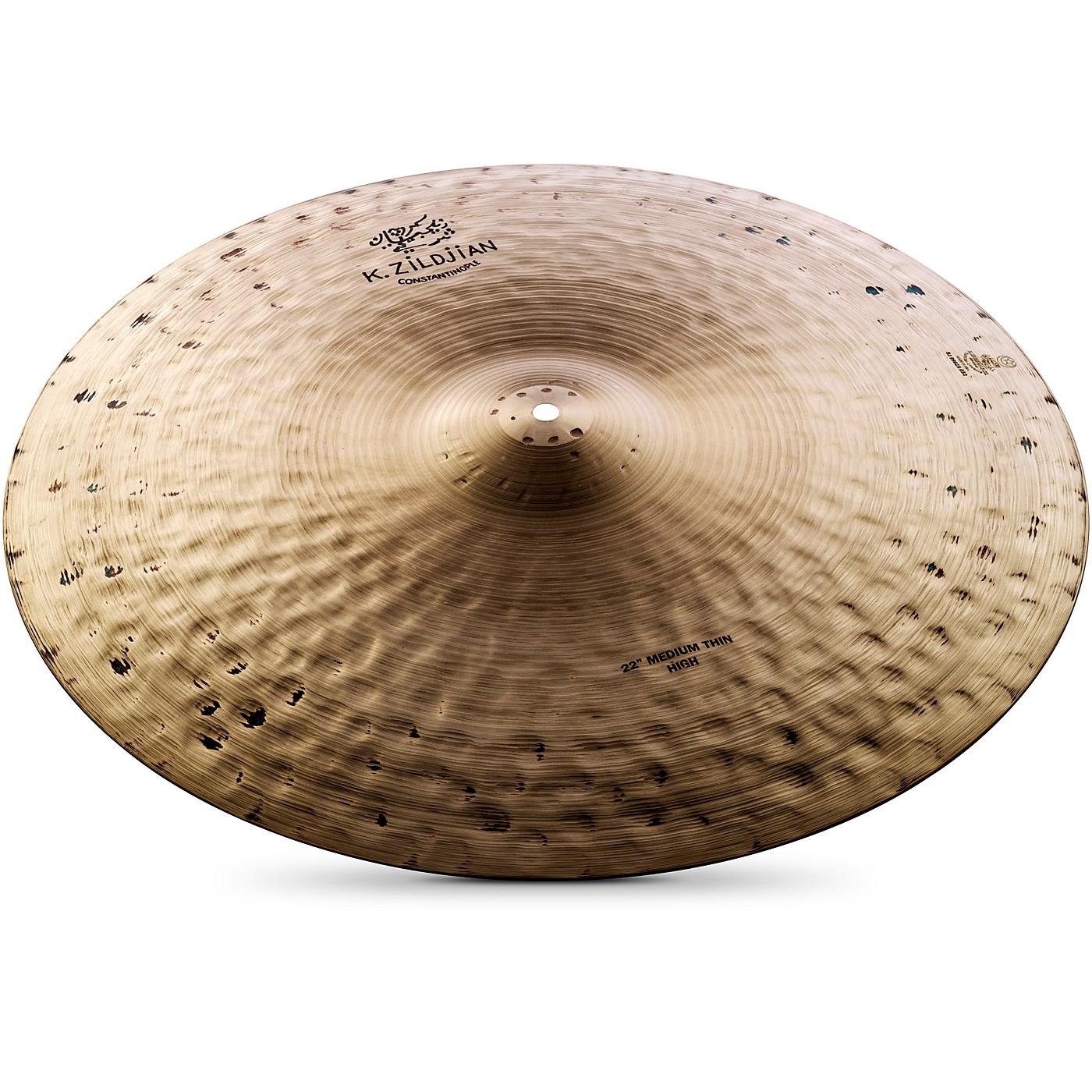 Zildjian K Constantinople Medium Thin Ride Cymbal thumbnail