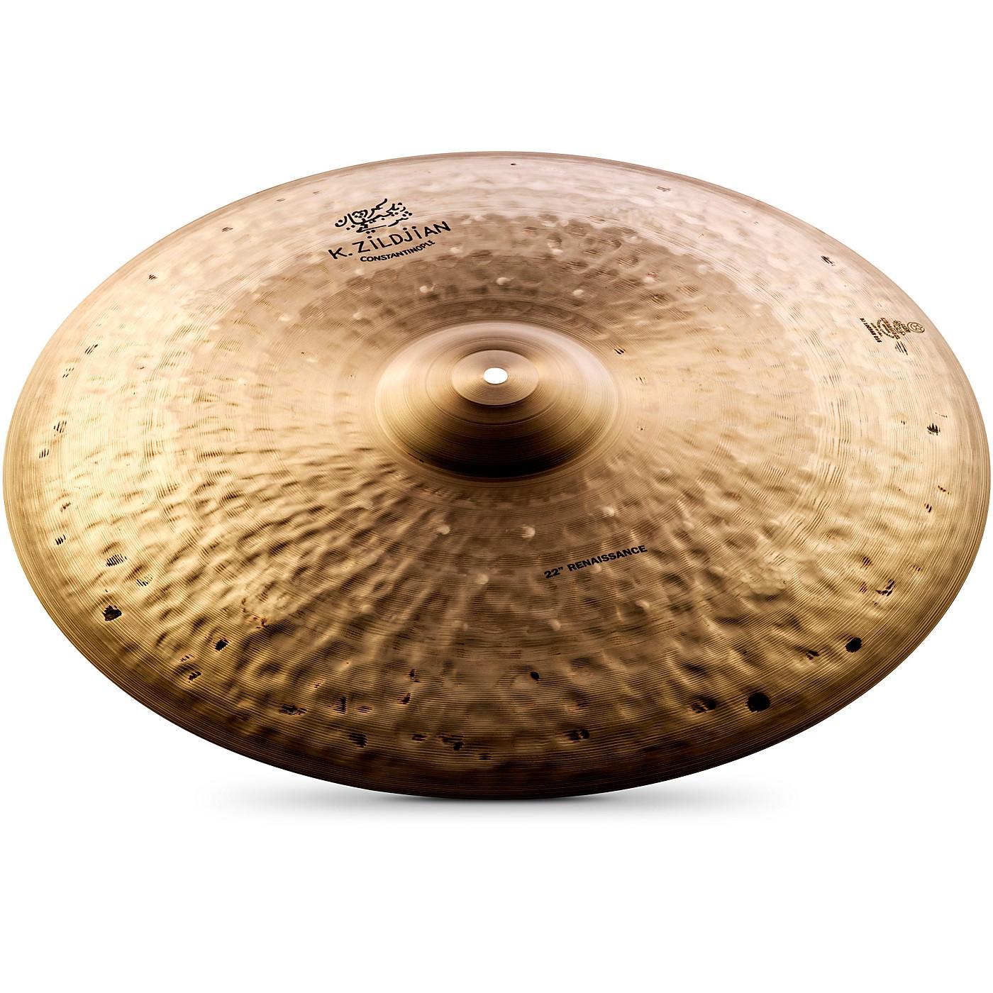 Zildjian K Constantinople Renaissance Ride Cymbal thumbnail