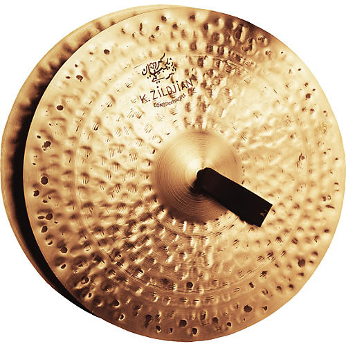 Zildjian K Constantinople Vintage Orchestral Cymbal Pair thumbnail