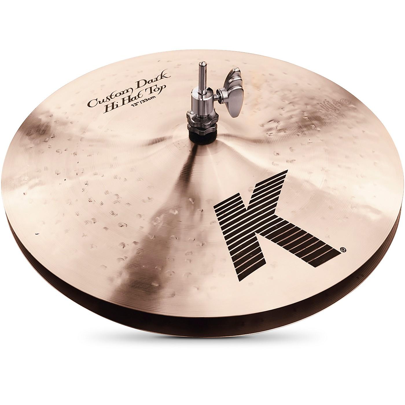 Zildjian K Custom Dark Hi-Hat Cymbal Pair thumbnail