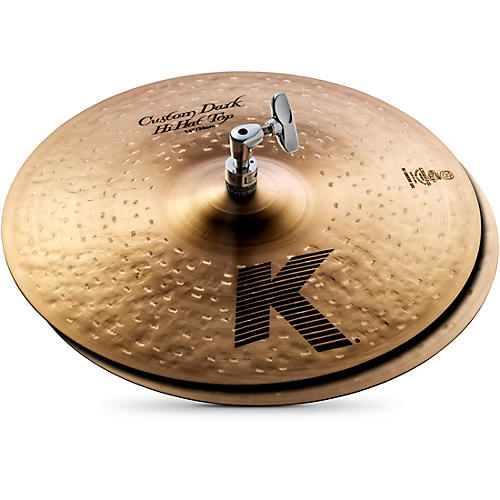 Zildjian K Custom Dark Hi-Hat Cymbal Pair thumbnail