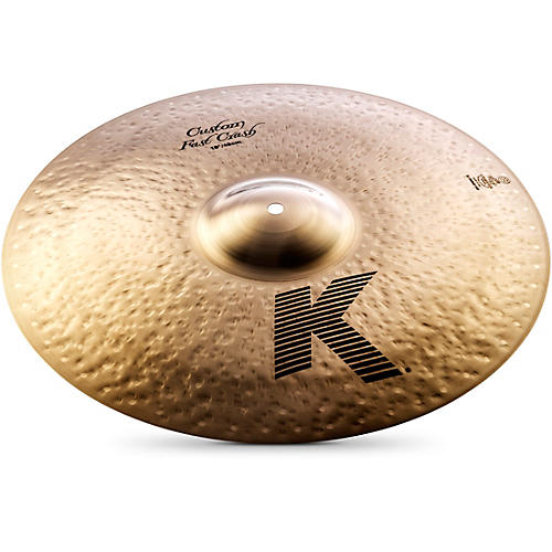 Zildjian K Custom Fast Crash Cymbal-thumbnail