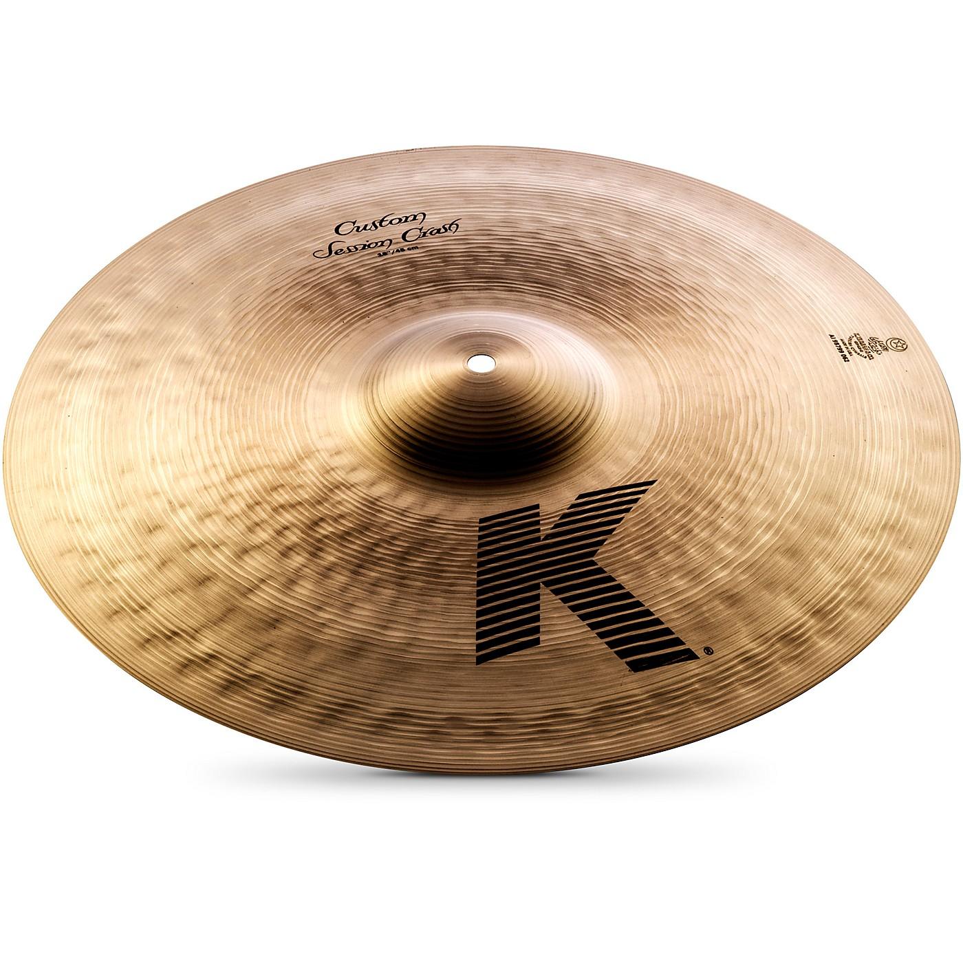 Zildjian K Custom Session Crash Cymbal thumbnail