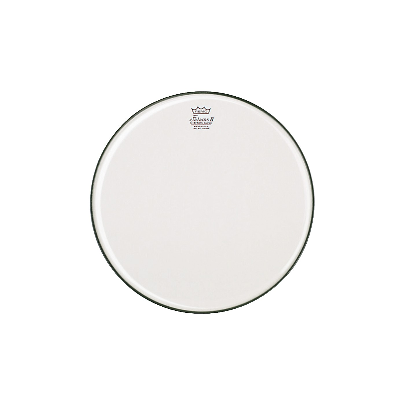 Remo K-Falam Smooth White Snare Side Drum Head thumbnail