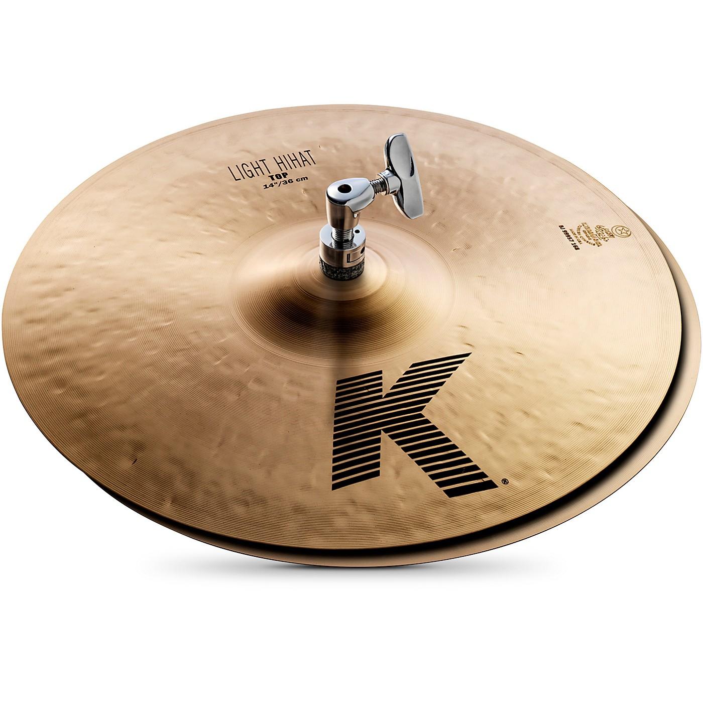 Zildjian K Light Hi-Hat Pair Cymbal thumbnail