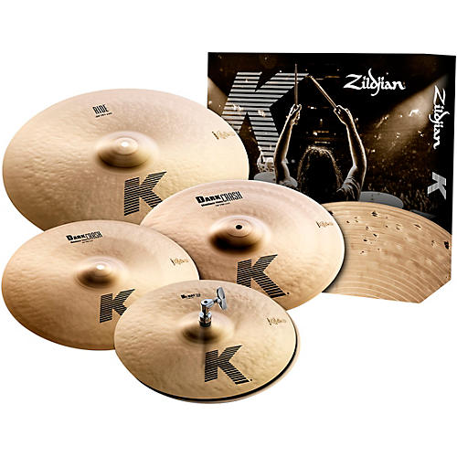 Zildjian K Series 5-Piece Cymbal Pack thumbnail