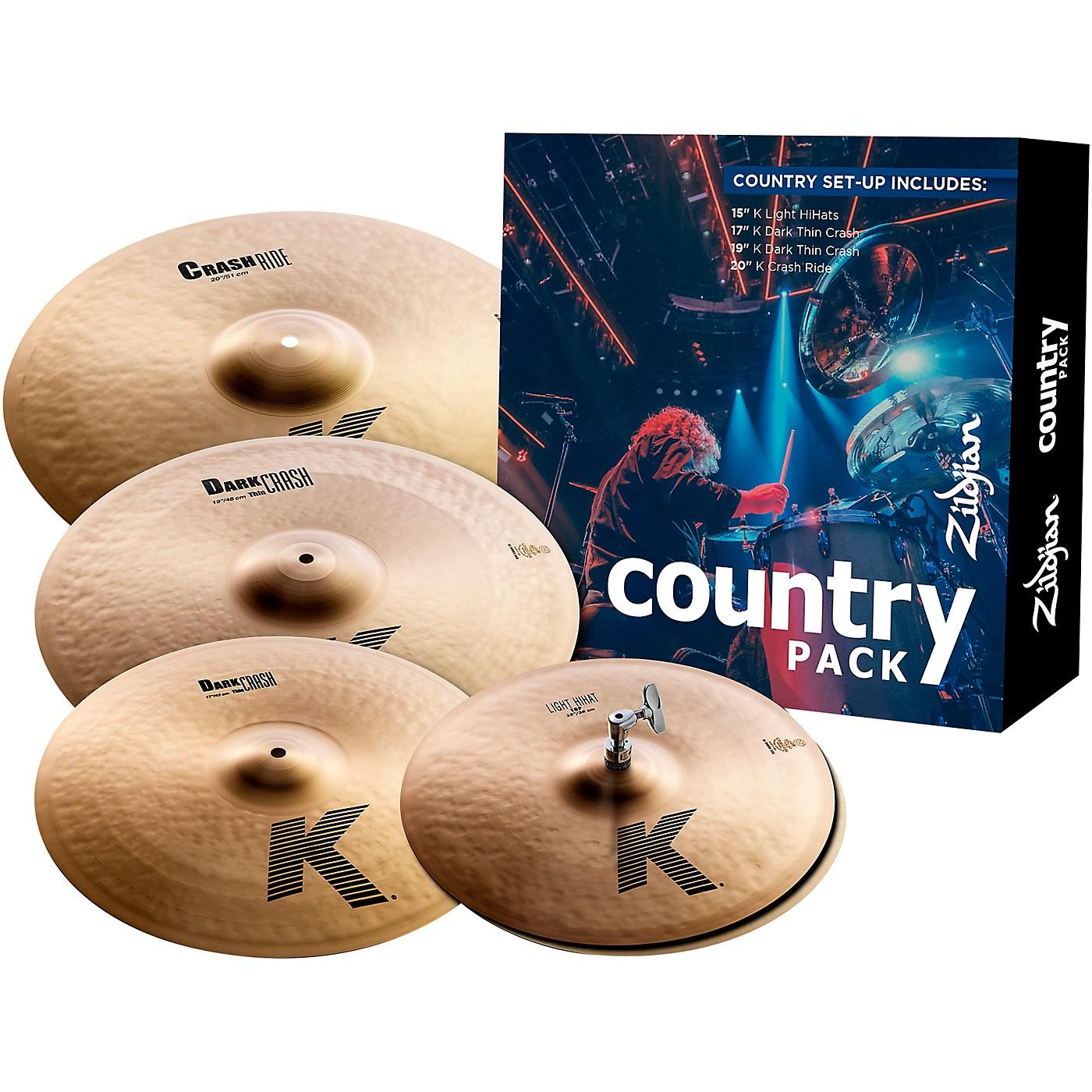 Zildjian K Series Cymbal Pack Country thumbnail