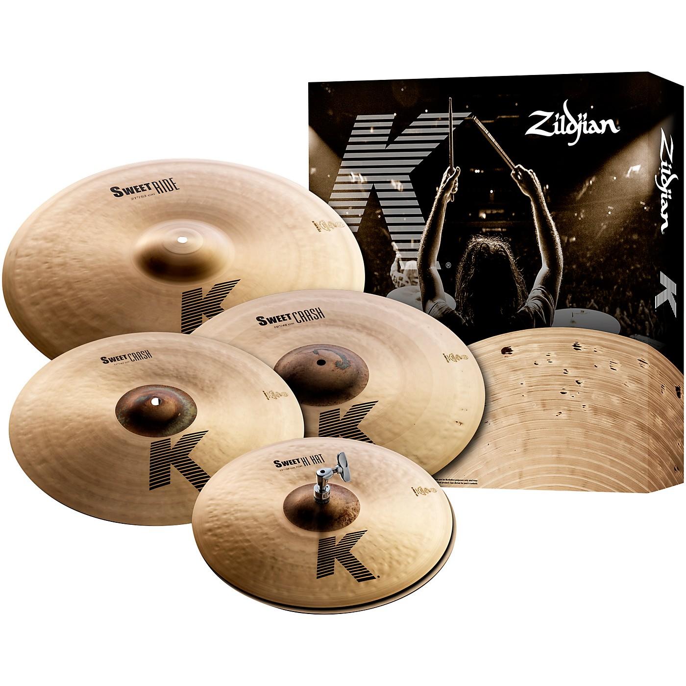 Zildjian K Sweet Cymbal Pack, 15