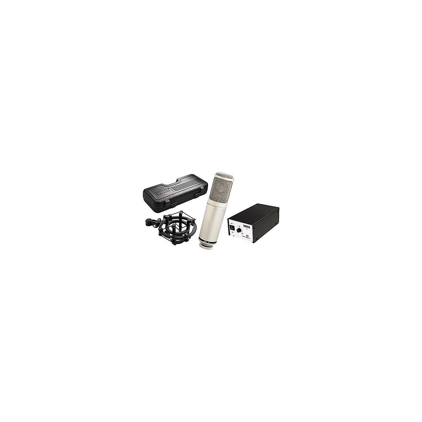 Rode K2 Variable-Pattern Tube Microphone thumbnail