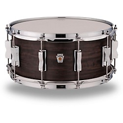 Ludwig Standard Maple Snare Drum with Aged Ebony Stain 14 x 6.5 in. 190839512383