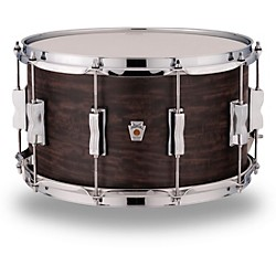 Ludwig Standard Maple Snare Drum with Aged Ebony Stain 14 x 8 in.