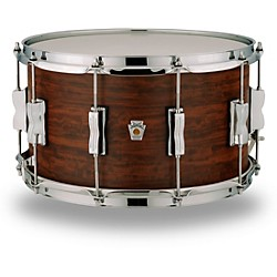 Ludwig Standard Maple Snare Drum with Aged Chestnut Veneer 14 x 8 in. 1908394802