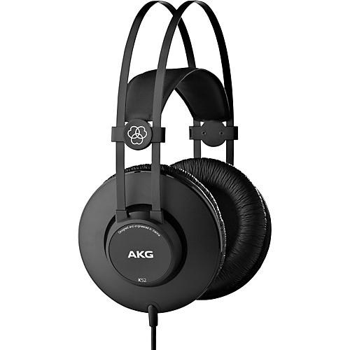 AKG K52 Closed-Back Headphones with Professional Drivers thumbnail