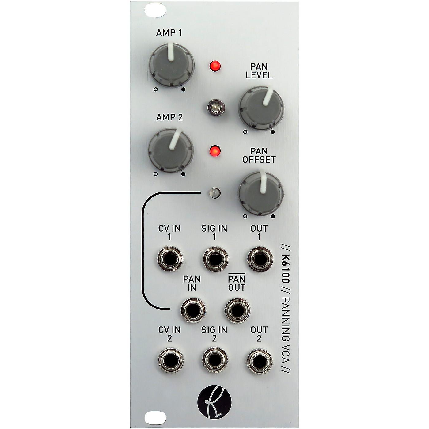 Kilpatrick Audio K6100 Panning VCA thumbnail