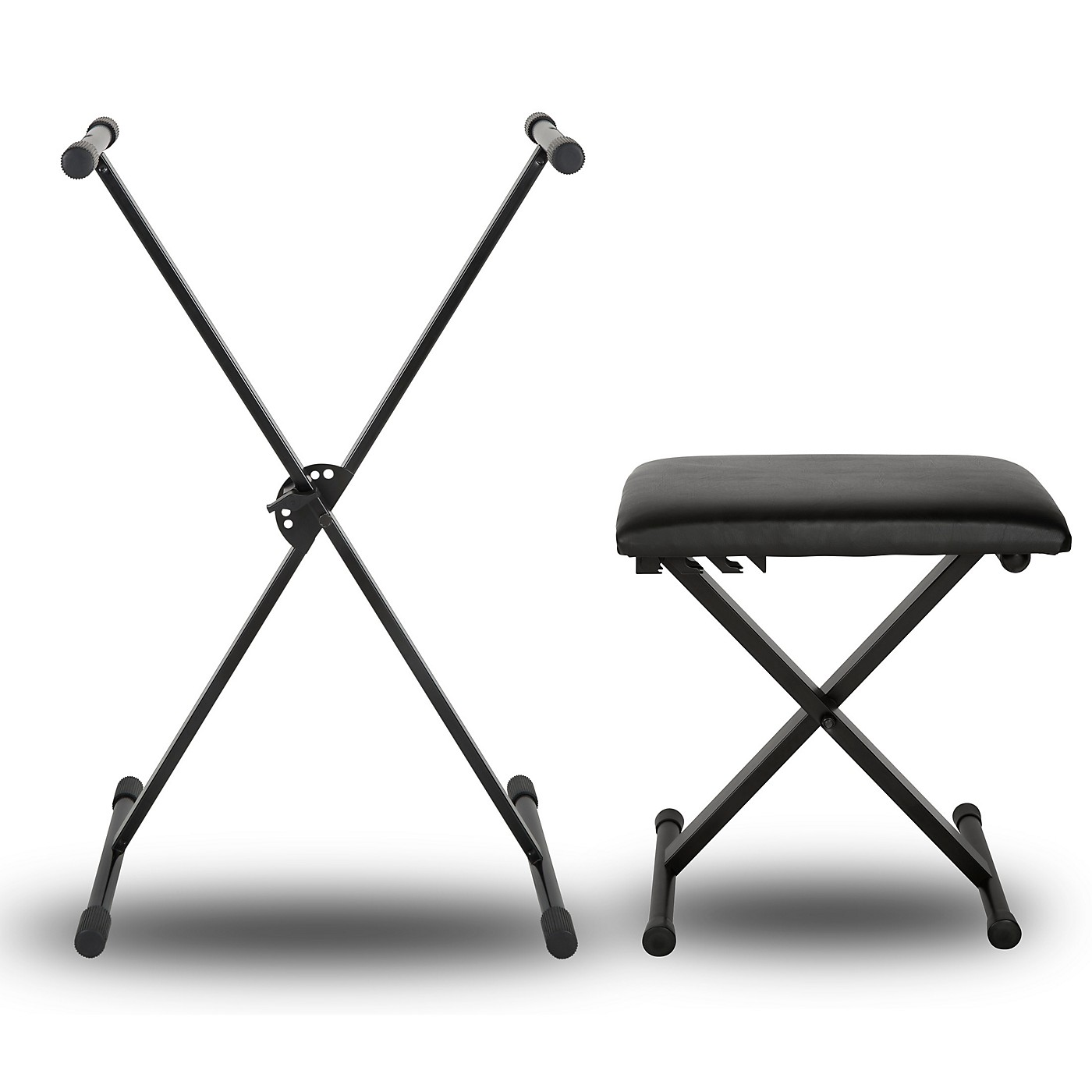 Musician's Gear KBX1 Keyboard Stand and Padded Piano Bench thumbnail