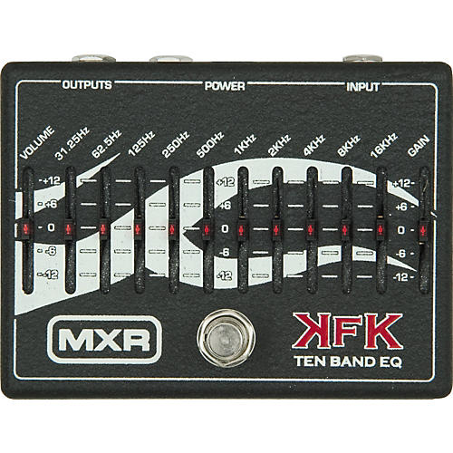 MXR KFK-1 Kerry King Ten Band Equalizer thumbnail