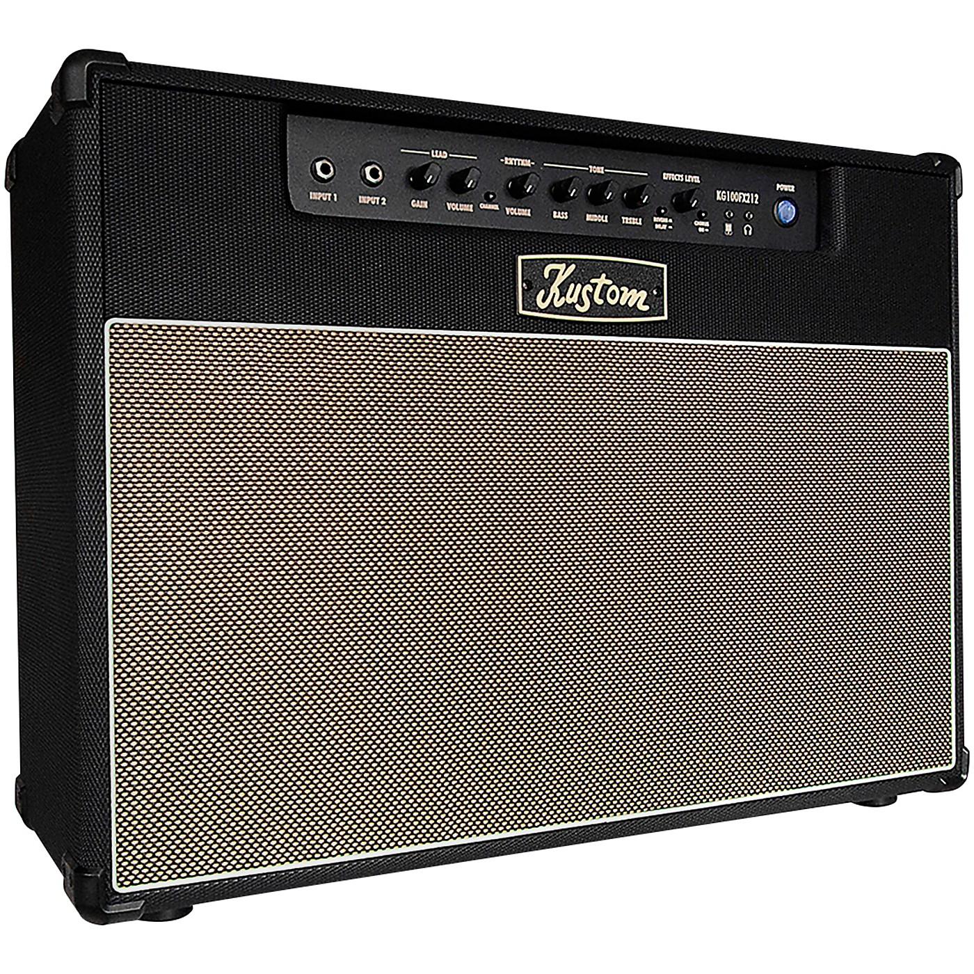 Kustom KG100FX212 100-Watt 2x12 Guitar Combo Amplifier thumbnail