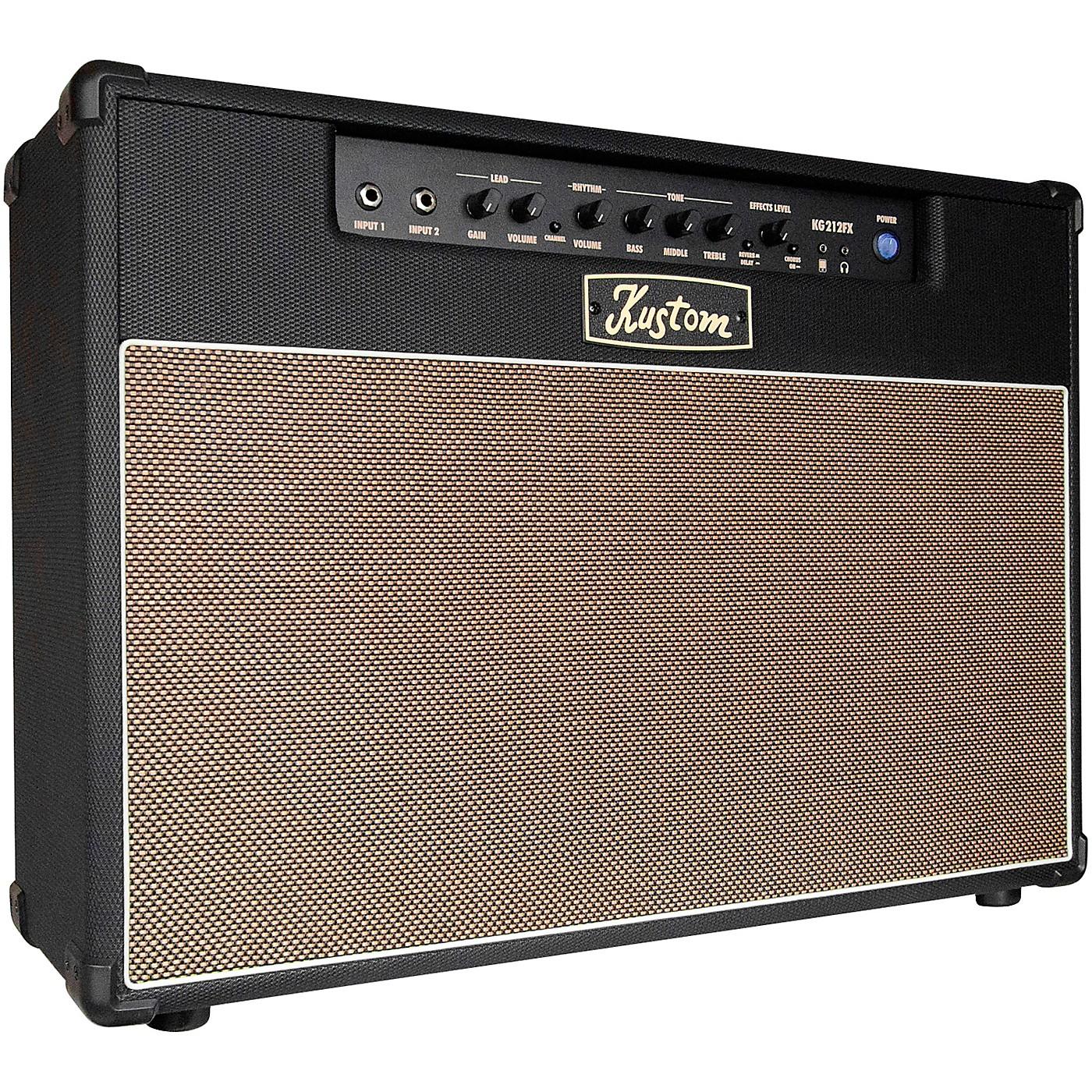 Kustom KG212FX 30W 2x12 Guitar Combo Amp thumbnail