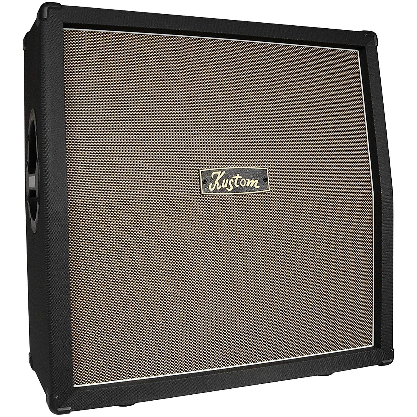 Kustom KG412 120W 4x12 Slanted Guitar Speaker Cabinet thumbnail