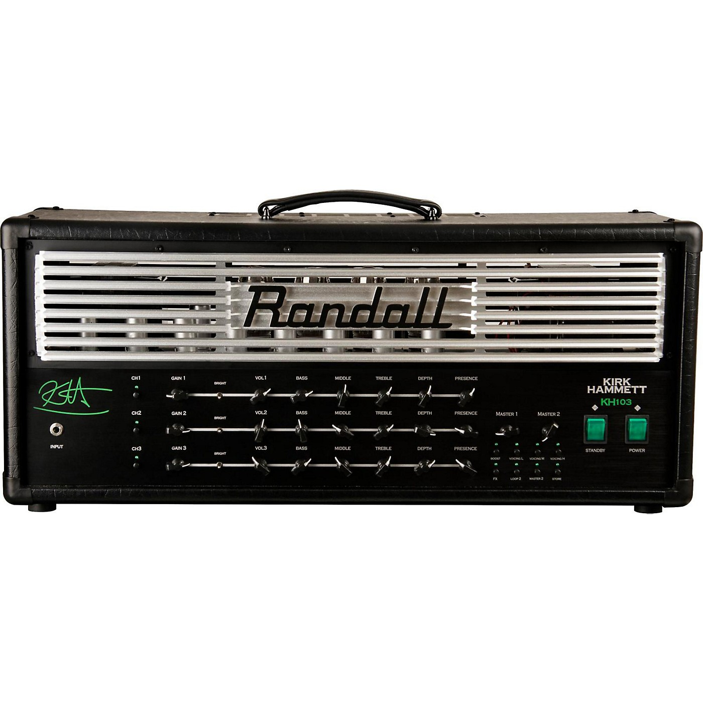 Randall KH103 Kirk Hammett Signature 120W Tube Guitar Amp Head thumbnail