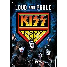 Hal Leonard KISS Army Tin Sign