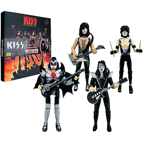 Bif Bang Pow! KISS Destroyer 3 3/4-Inch Action Figure Deluxe Box Set thumbnail