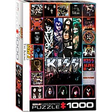 Eurographics KISS Discography Collage
