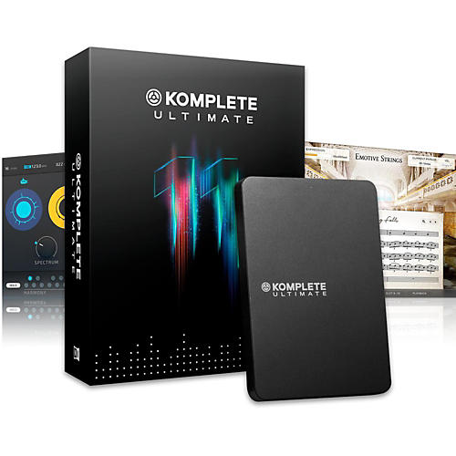 Native Instruments KOMPLETE 11 ULTIMATE Upgrade from KOMPLETE SELECT thumbnail
