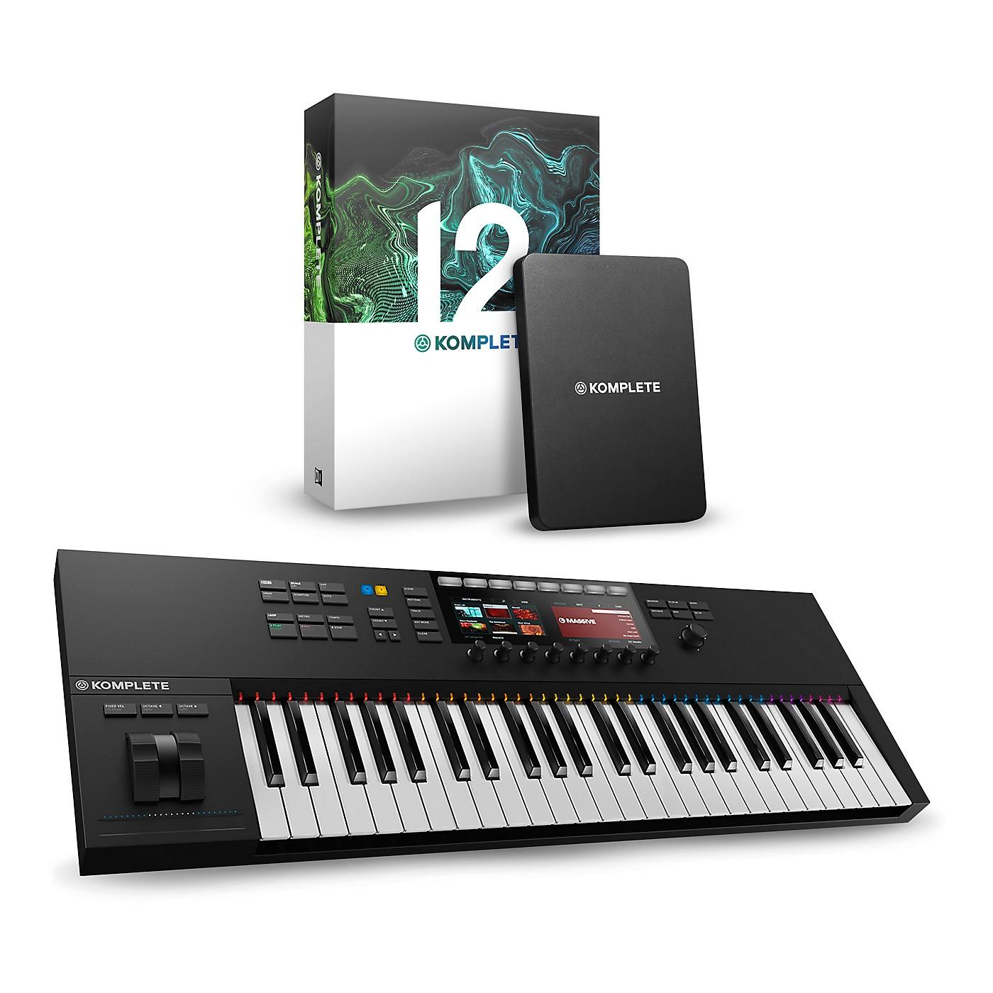 Native Instruments KOMPLETE KONTROL S49 MK2 With KOMPLETE 12 thumbnail