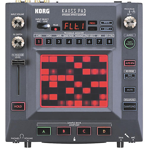 Korg KP3 KAOSS Pad Dynamic Effect/Sampler-thumbnail