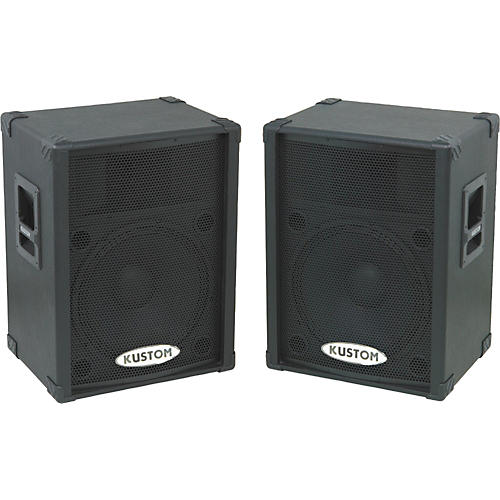 Kustom PA KPC15P Powered Speaker Pair thumbnail