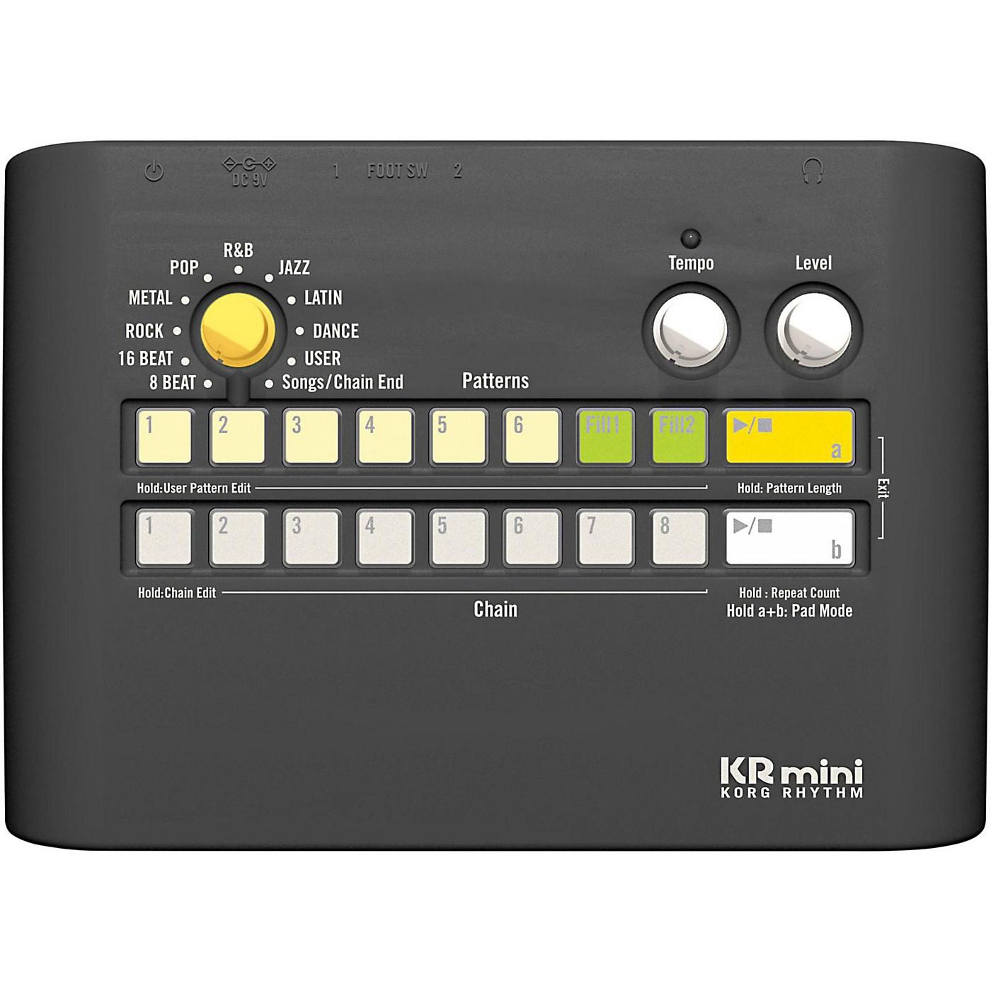 Korg KRmini Compact Rhythm Machine thumbnail