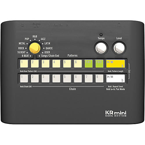 Korg KRmini Compact Rhythm Machine-thumbnail