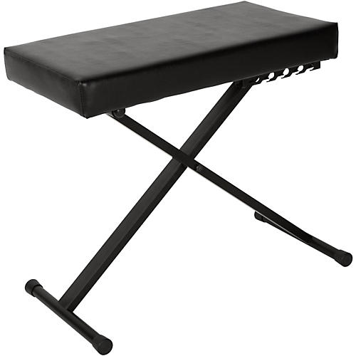 Musician's Gear KS-515-MG Deluxe Keyboard Bench thumbnail