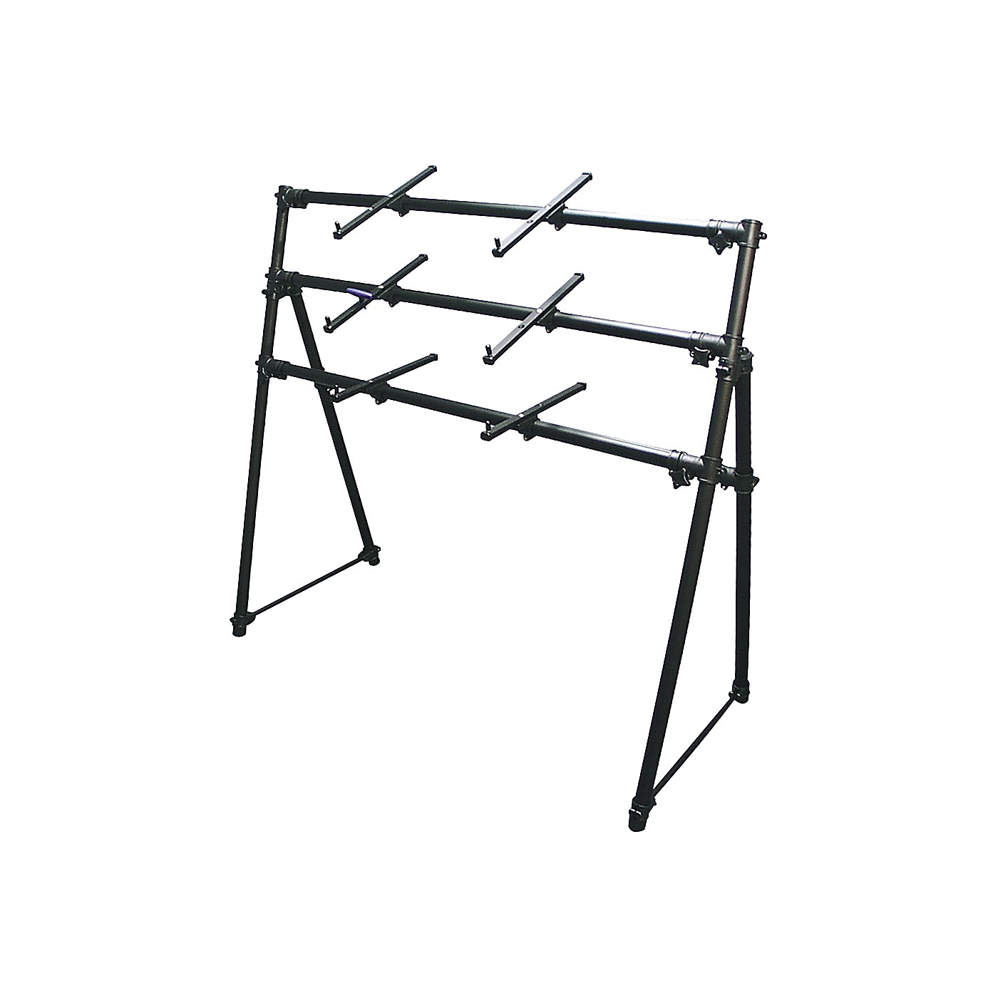 On-Stage KS-7903 3-Tier A-Frame Keyboard Stand thumbnail