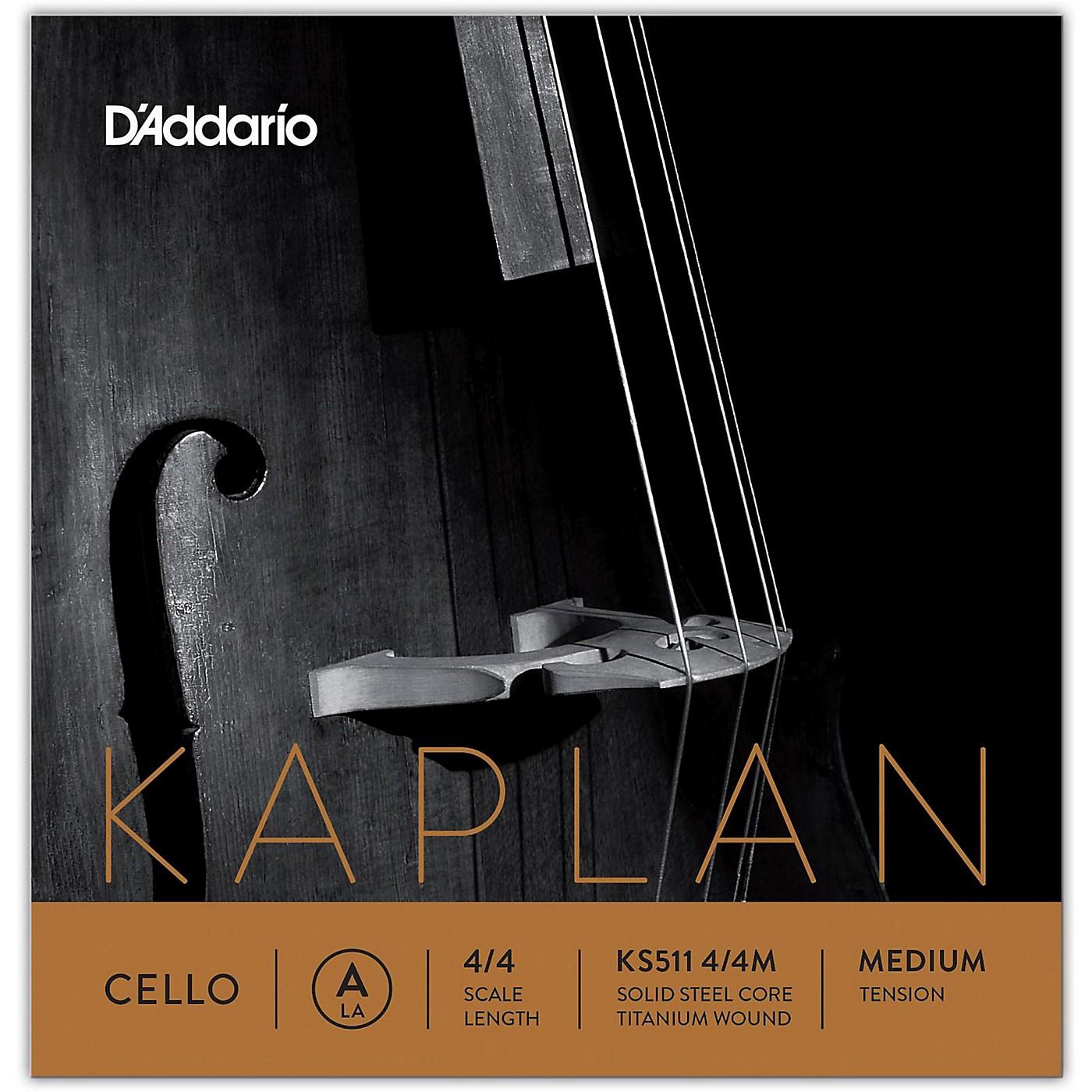 D'Addario KS511 Kaplan Solutions 4/4 Size Cello A String thumbnail