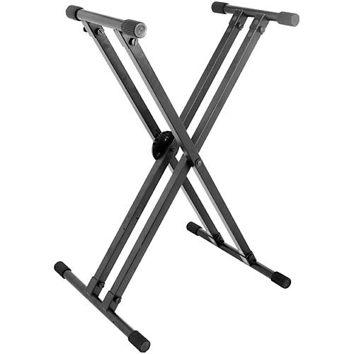 On-Stage KS8291 Heavy-Duty Deluxe X ERGO-LOK Keyboard Stand thumbnail
