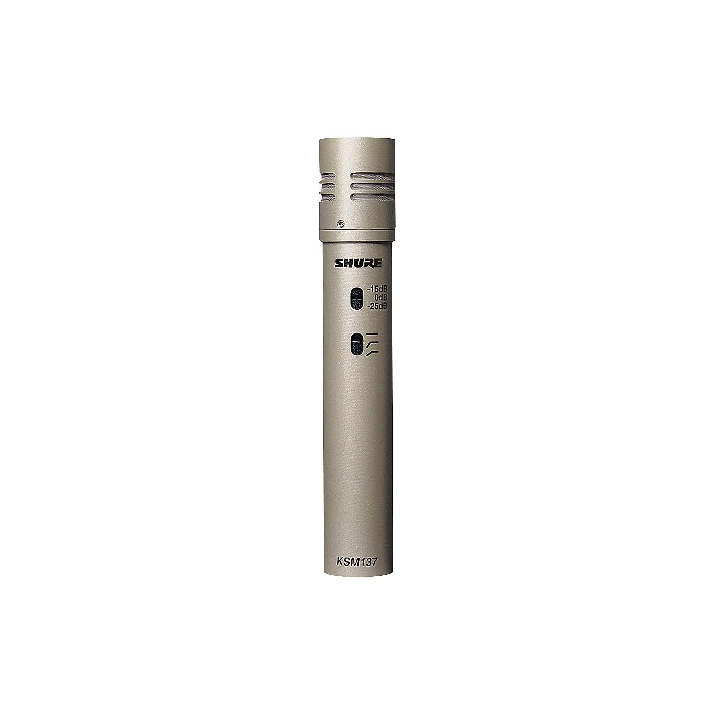 Shure KSM137/SL Cardioid Studio Condenser Microphone thumbnail